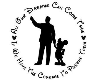 walt disney s secret to making dreams come true courage barry